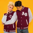 College Jacket,Varsity Jacket,Baseball Jacket,Add your own personalised Initials