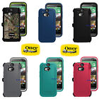 New OtterBox Defender Series Case + Holster Belt Clip for HTC One M8