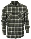 Quiksilver Lost Wave Flannel Button Up Shirt (Quiet Shade Gray)