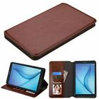 PU leather Card Wallet Shockproof Stand Case Cover For Samsung Galaxy Tab E 8""