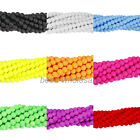 New 4mm Matte Neon Frosted Glass Round Spacer Beads Long Strand Various Color