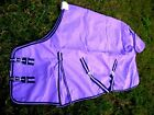 640D Turnout Water Resistant Winter Horse SHEET Light Blanket Lilac 912