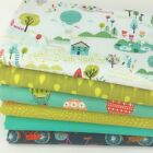 DASHWOOD Sweet Escape 6 piece Fabric bundles 100% cotton fabric for sewing/craft