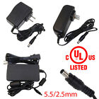 UL Power Supply Adapter AC/DC 12V 0.5A/1A/2A/3A/4A/5A for Security Camera CCTV