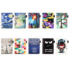 For Amazon eReader New Kindle 2016 PU Leather Color Painting Folding Cover Case