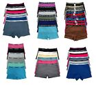 Spandex Panties LOT 1 3 6 Women Boyshorts Underwear Cotton Sports Panty S M L XL