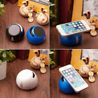 NEW Wireless Bluetooth Stereo Speaker Phone Stand Holder For Iphone 6 6S Samsung