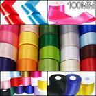 100mm Satin Ribbon 3 Lengths Available Extra Wide Wedding Car Party Sash Chair