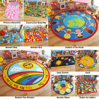 CHILDREN'S RUGS KIDS PLAY MAT GIRLS BOYS FUN RUG PINK RED ROAD WORLD LEARNING