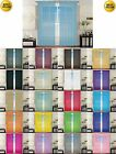 SHEER/ SCARF VALANCE DRAPES Voile Window Panel curtains 13 diff. colors SALE