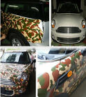 """12""""x60"""" Vinyl  Decal Sticker For Military CAMO Camouflage Woodland Wrap Car"""