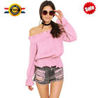 Fashion Womens Off Shoulder Sexy Polyester Long Sleeve Casual Shirt Top Blouse