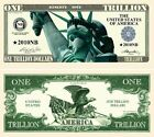 Liberty Eagle Trillion Dollar Bill (Pick Quantity 5 to 5000 Bills)
