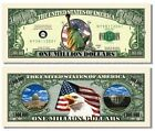 Lady Liberty Million Dollar Bill (Pick Quantity 5 to 5000 Bills)