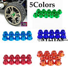 10PCS Alloy Anti-Loose Wheel Rim Lock M4 4MM Nuts For EP Nitro1/10 RC Car