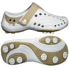 Womens Dawgs Spirit Golf Walking Shoes Slip On Lightweight EVA Arch Support