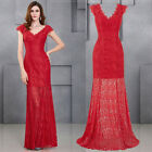 Sexy Women Prom Ball Cocktail Evening ❀ Party Formal Gown Long Bridesmaid Dress