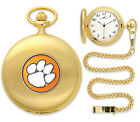 Clemson Tigers Pocket Watch Gold or Silver