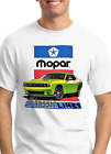 Mopar Classic Lines - New Dodge Challenger - 100% Cotton Men's T-shirt $20.0 USD on eBay
