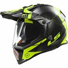 LS2 MX Off Road Motorcycle Helmet Pioneer Hi-Vis Yellow