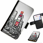 CITY01 CITY COLA PRINTED LEATHER WALLET/FLIP PHONE CASE COVER FOR ALL MODELS