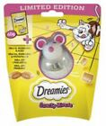 Dreamies Limited edition snacky mouse + Play wobble treat 60g cheese flavour