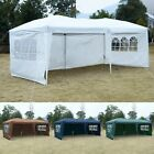 US 10'X20' POP UP Tent Gazebo Wedding Party Folding Canopy Carry Bag Cross-Bar