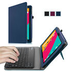 For Dragon Touch X10 / KingPad K100 Tablet PU Leather Keyboard Case Folio Cover