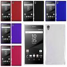 High Quality Colorful Rubberized Hard Back Case Cover for Sony Xperia Z5