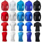 Mens Compression Armour Base Layer Skin Gym Shirts Slim Fit T-Shirt Sports Tops