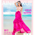 New 150*180cm fashion Solid color Chiffon scarves Beach Scarves Sunscreen scarf