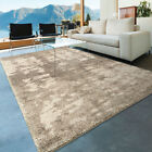 Gray Contemporary Synthetics Distressed Gradient Shaded Area Rug Abstract 1682