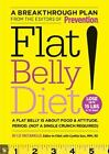 Prevention's Flat Belly Diet, Liz Vaccariello Hardcover Weight Loss Book New