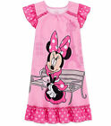 DISNEY MINNIE MOUSE Girl's Size 4 OR 5/6 Pink Paris France Gown, Nightgown, NEW
