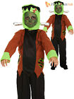 Age 4-12 Boys Frankenstein Costume Halloween Horror Kids Child Fancy Dress Party