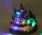 fibre optic christmas village