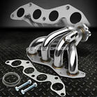 STAINLESS RACING MANIFOLD HEADER /EXHAUST 01-05 HONDA CIVIC EX 1.7L D17A2 4 CYL