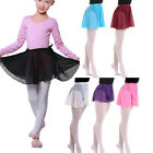Chiffon Girls Ballet Tutu Dance Skirt Women Skate Wrap Scarf Dance Wear EW