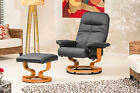 Luxury Recliner Swivel Chairs in Bonded Leather - Discontinued Line Models