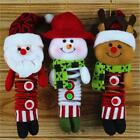 Santa Claus Snowman Elk Spring Doll Holiday Party Christmas Decor Ornaments - LD