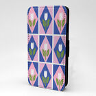 Tulips Print Design Pattern Flip Case Cover For Sony Xperia - P649