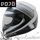 DOJO IMOLA OVERCOME WHITE GREY MOTORCYCLE MOTORBIKE BIKE SCOOTER HELMET CHEAP