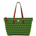 Dooney & Bourke NCAA Oregon Zip Top Shopper