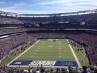 2 New York Giants vs Baltimore Ravens Tickets 10 16 16 With Blue Parking Pass NY