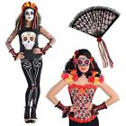 Christys Dress Up Ladies Day Of The Dead Halloween Girls Costume Accessories