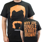 The Walking Dead Abraham Why Are Dingleberries Brown Black Adult T-Shirt