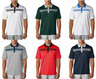 ADIDAS 3-STRIPES TEXTURED POLO MENS GOLF SHIRT - NEW 2016- PICK SIZE AND COLOR!
