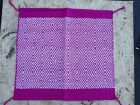WESTERN SHOW SADDLE BLANKET PAD BARREL RACING ROPING HORSE TRAIL PINK AREA RUGS