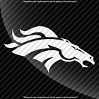 Denver Broncos Single Color Decal Sticker $4.99 USD on eBay