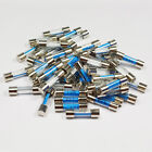 Radio Glass Fuse 1.5a A Amp 20mm Classic Car Fast Quick Blow Fuses Amps Tube